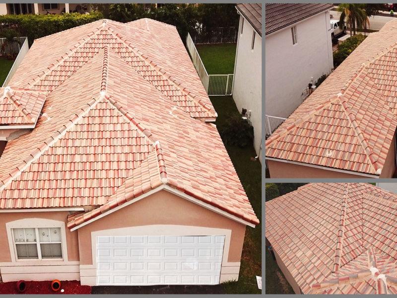 Tile Roof in Weston