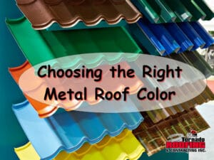 Metal roof color