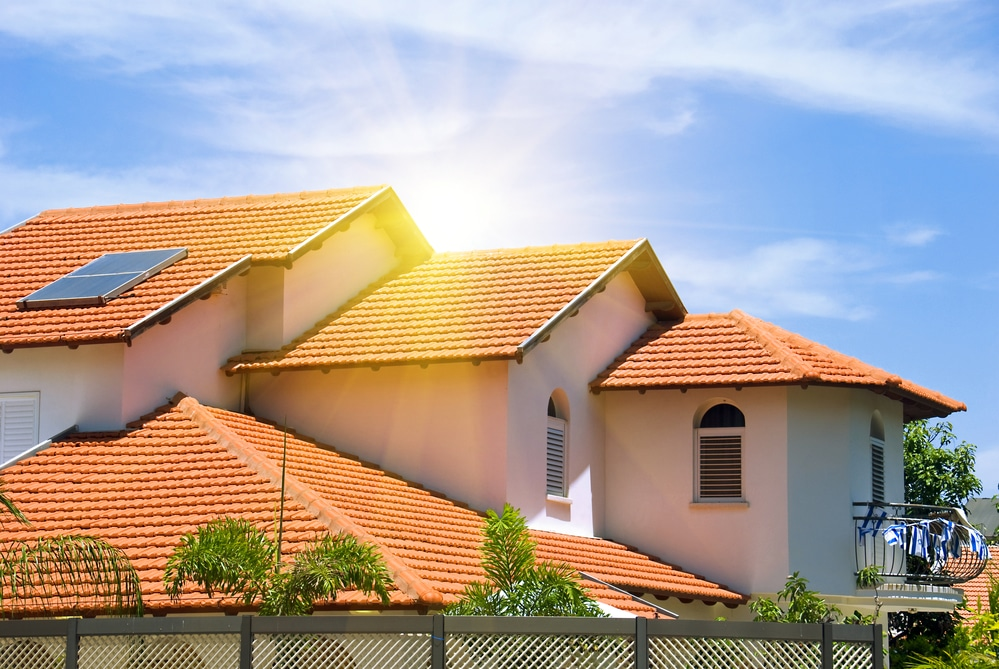 UV Sunlight Roof Damage Naples
