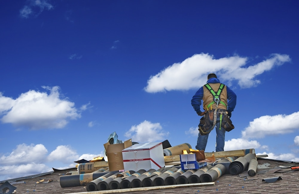 commercial building roof shingles repair Naples
