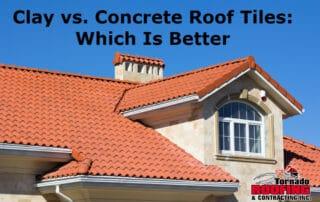 Clay vs. Concrete Roof Tiles