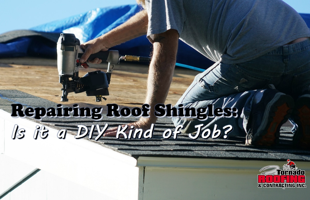repairing roofing shingles