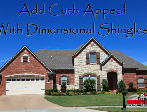 Add Curb Appeal With Dimensional Shingles