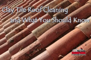 clay tile roof cleaning what you should know