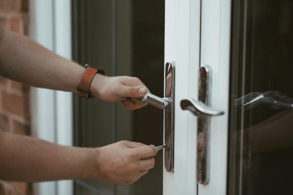 Window and Door Installation glass door