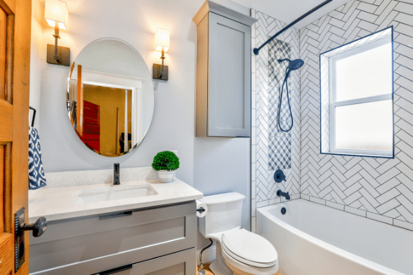 bathroom remodeling going with sink and vanity