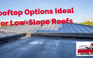 flat roof low-slope roof