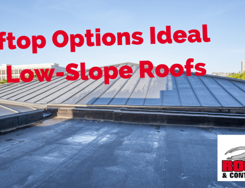 What Rooftop Option Is Ideal For Low Slope Roofs?